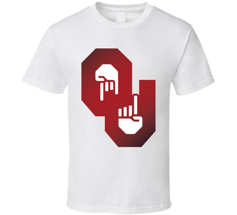 Horns Down Upside Down Longhorn Texas Football Oklahoma T Shirt