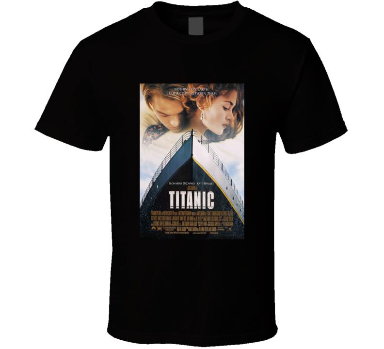 Titanic Jack & Rose Classic Love Movie T Shirt