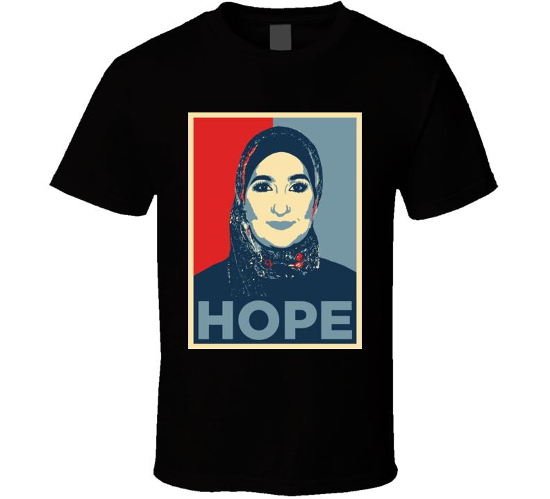 Linda Sarsour Us Political Activist Women's March T Shirt