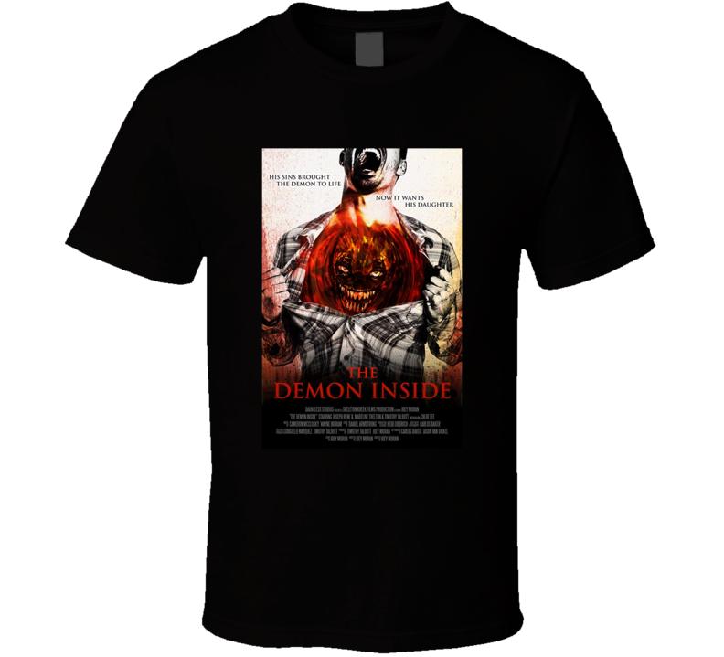 The Demon Inside Horror Movie Halloween Scary T Shirt
