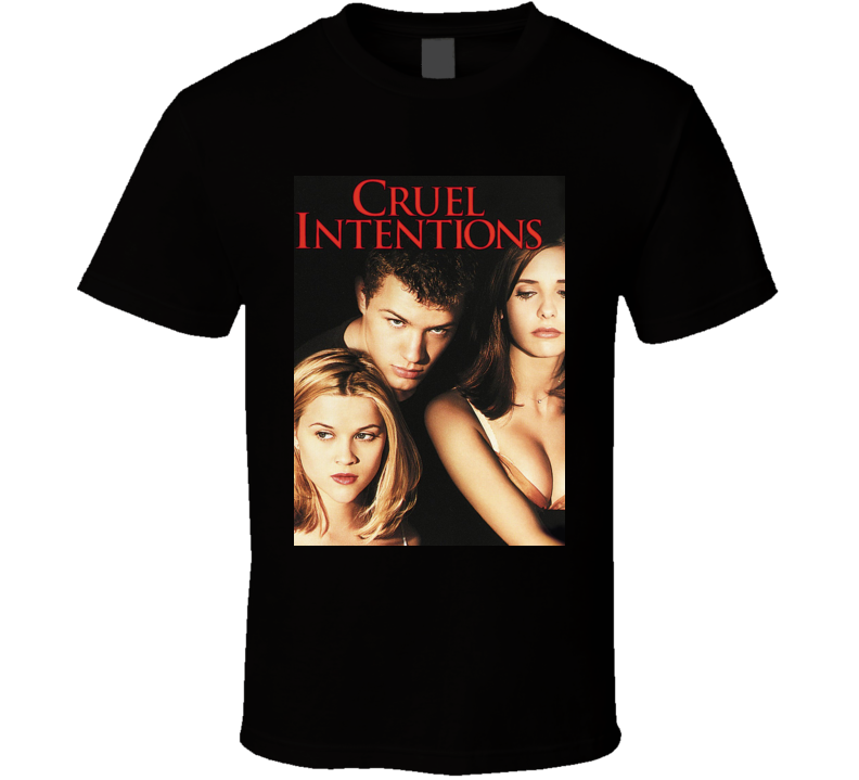 Cruel Intentions Teen Drama Movie Poster T Shirt