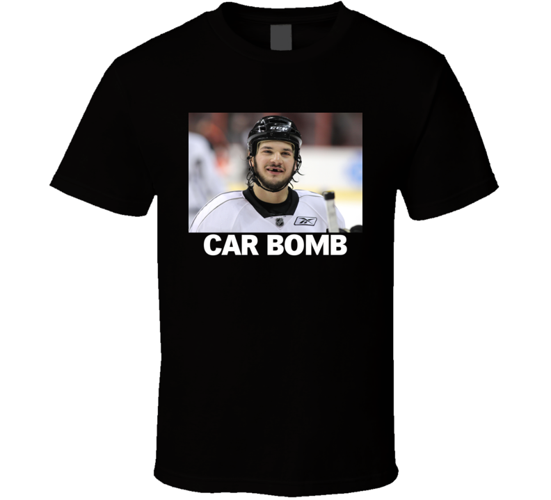 Dan Carcillo Hockey Car Bomb T Shirt