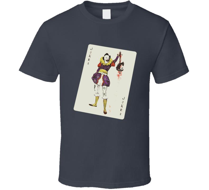 Joker Playing Card The Dark Knight T Shirt