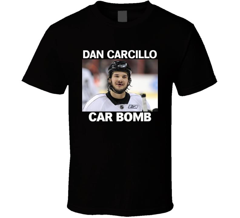 Dan Carcillo Hockey Car Bomb T Shirt