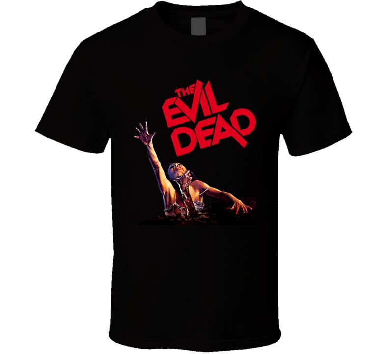 The Evil Dead Horror Movie Classic Halloween Black T Shirt