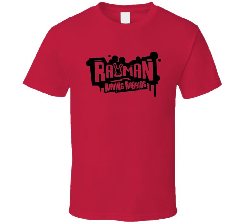 Rayman Logo Gaming Gamer Video Game T Shirt
