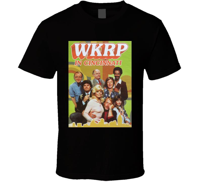 WKRP in Cincinnati Radio Station TV Show T Shirt