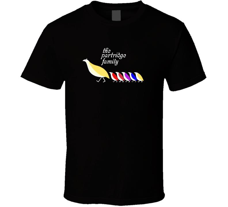 The Partridge Family TV Show Music Retro T Shirts
