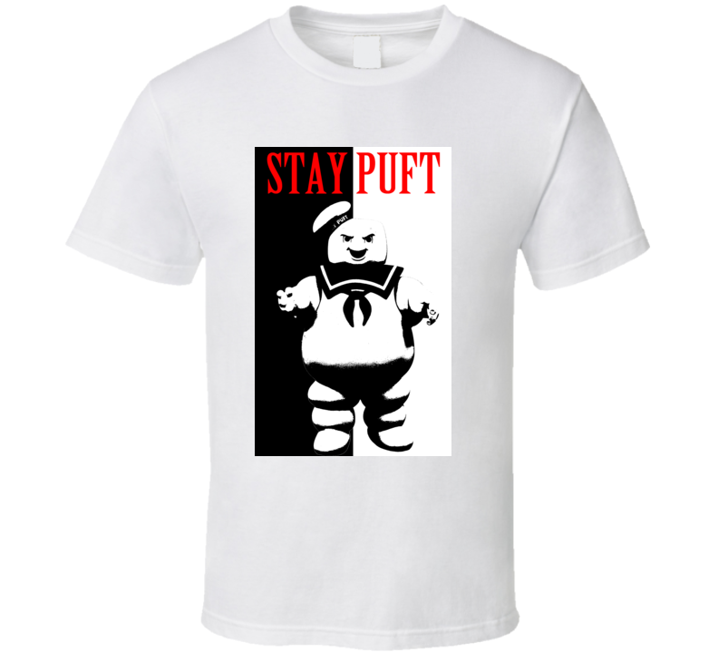 Stay Puft Angry Ghostbusters RETRO 80s t shirt