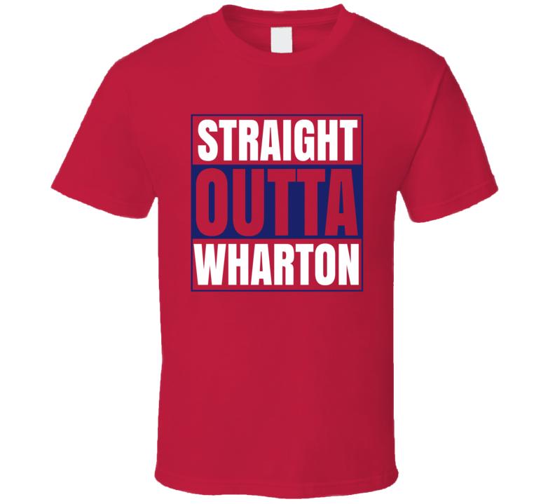 Straight Outta Wharton Business School Grad Graduate T Shirt