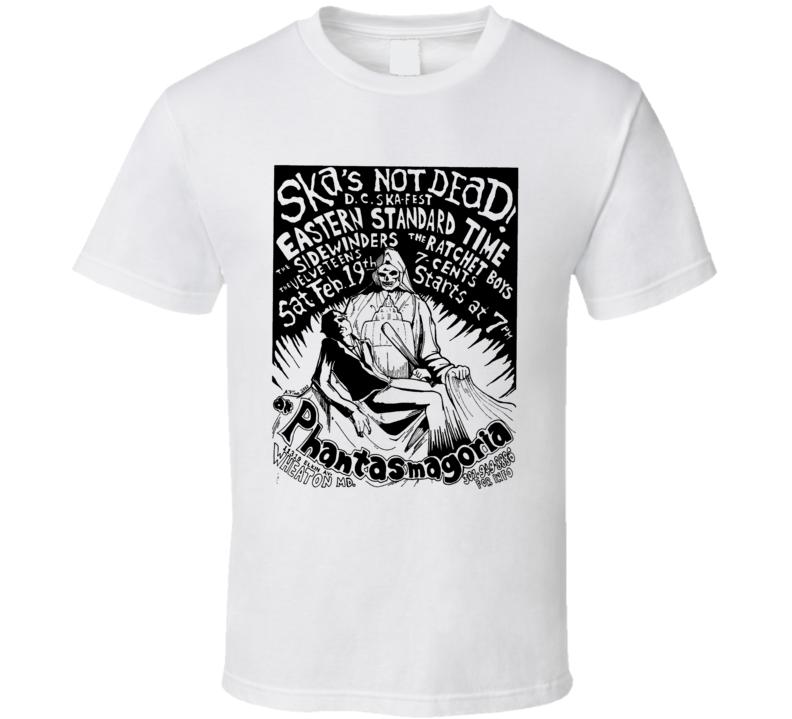 Ska Punk Rock Music Poster Concert T Shirt