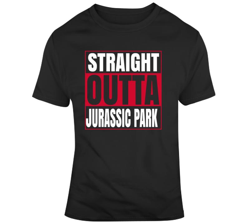 Toronto Basketball Jurassic Park Straight Outta T Shirt
