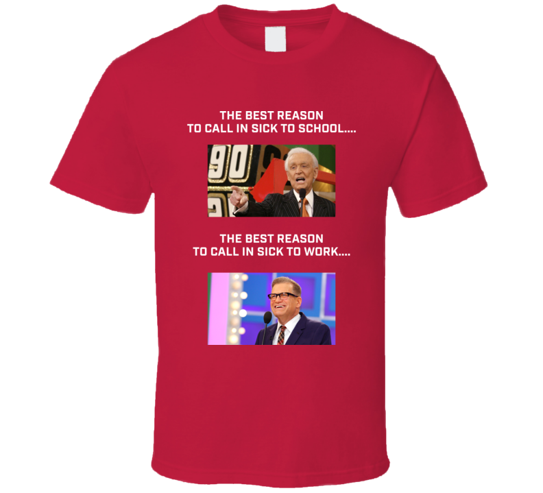 The Price is Right Funny Idea Bob Barker Drew Carey Game Show T Shirt