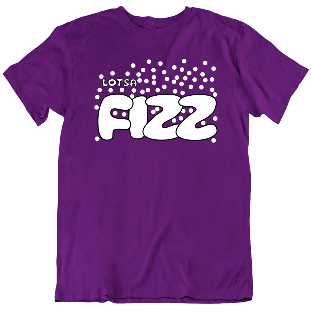 Lotsa Fizz Candy Retro Halloween Group Costume Purple Funny T Shirt