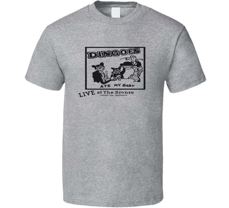 Dingoes Ate My Baby Buffy Music Band RETRO T Shirt