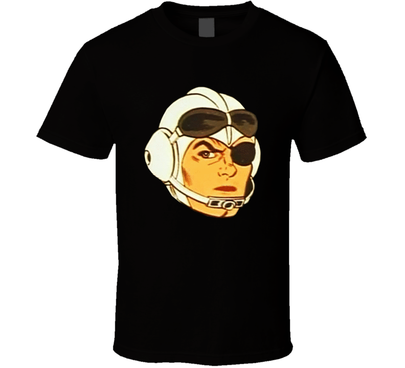 Space Angel Retro Kids Cartoon 1960s 60s Outer Space T Shirt