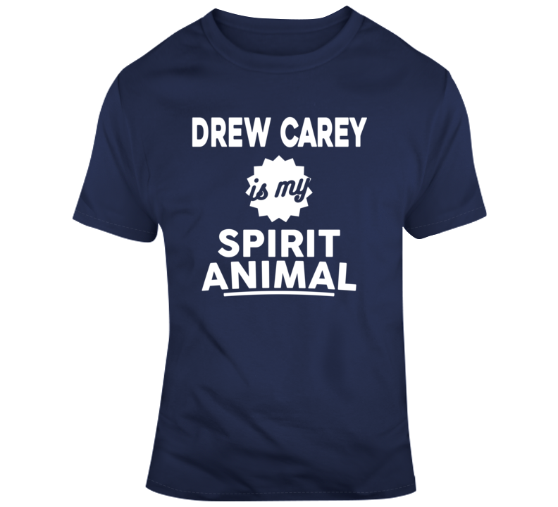 Drew Carey Is My Spirit Animal Funny Price Is Right Joke Funny Game Show T Shirt