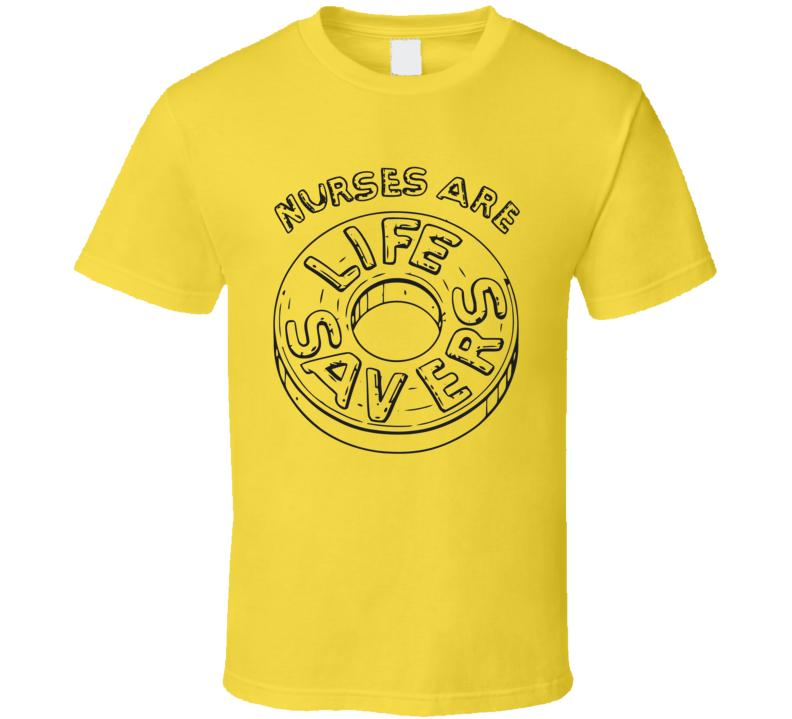 Nurses Are Lifesavers Candy Halloween Custom T Shirt