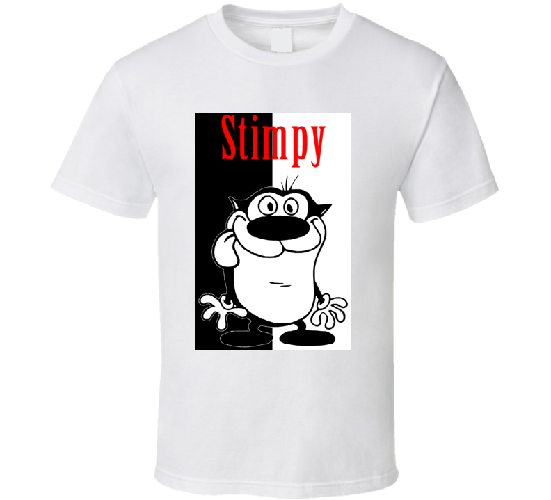 The Ren and Stimpy Show Funny Cartoon T Shirt