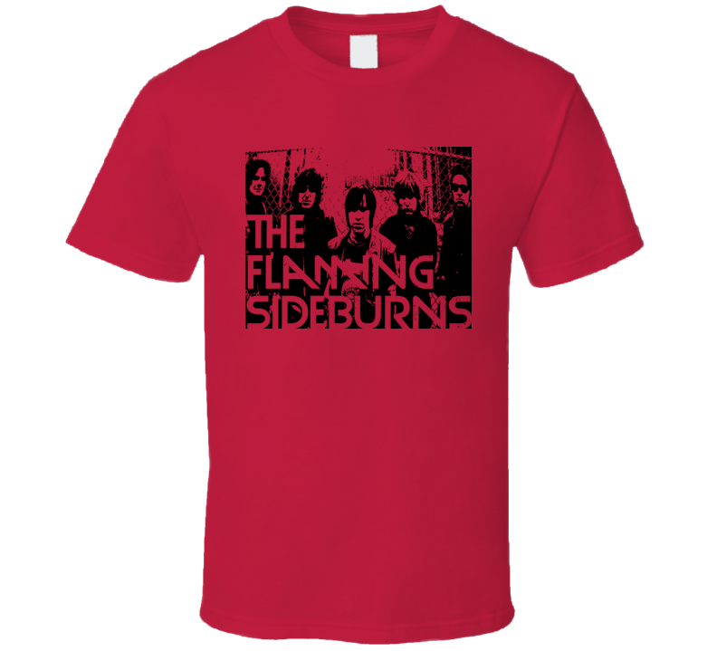 The Flaming Sideburns Finland Garage Punk T Shirt
