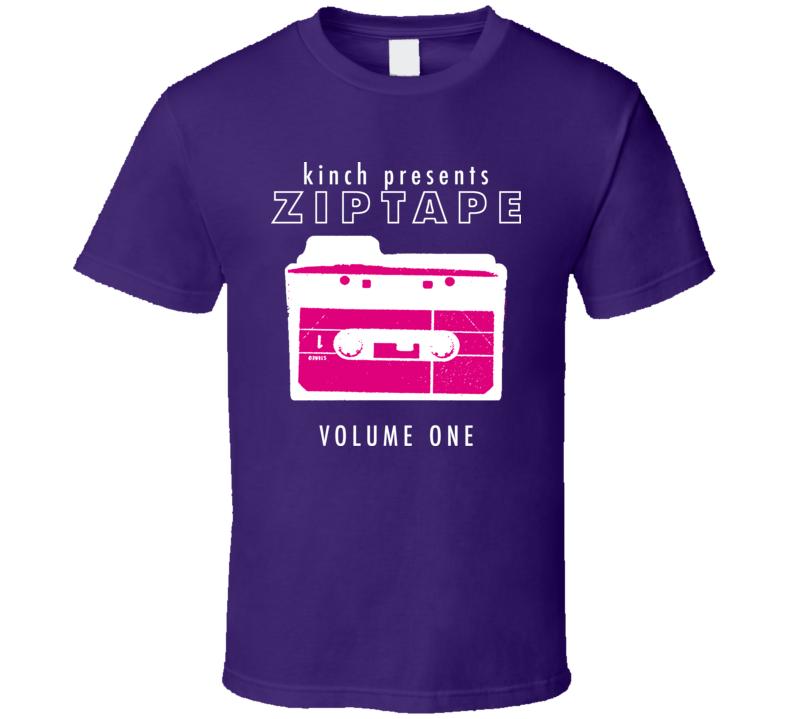 Kinch Indie Alt Rock Music Cool Zip Tape T Shirt