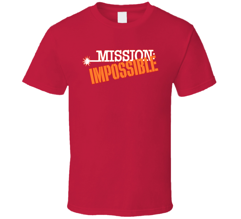 Mission Impossible Retro Tv Show Classic T Shirt