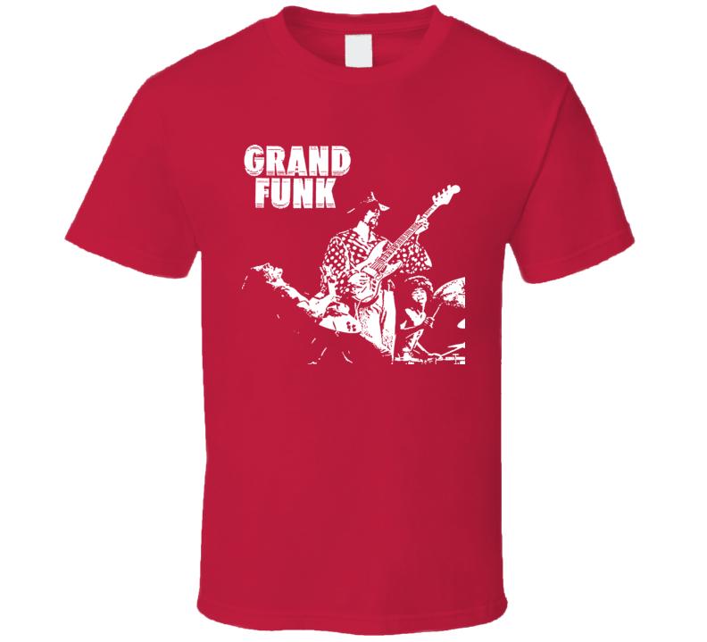 Grand Funk Railroad Retro Music Band T Shirt