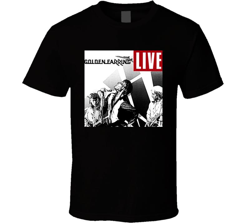 Golden Earring Retro Music Band T Shirt