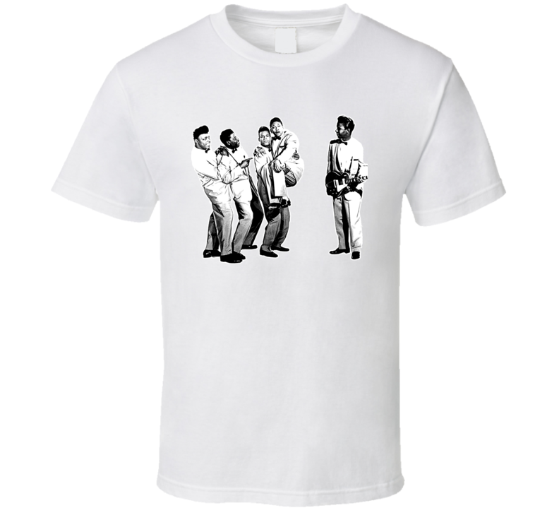 The Coasters Music Retro Singing Group T Shirt