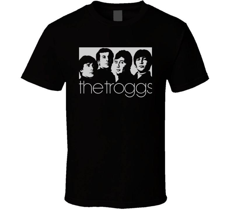 The Troggs Wild Thing Retro Music Group  T Shirt