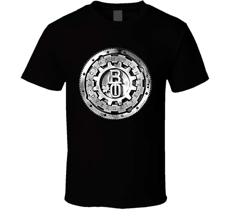 Bachman Turner Overdrive Bto Music Rock Band T Shirt