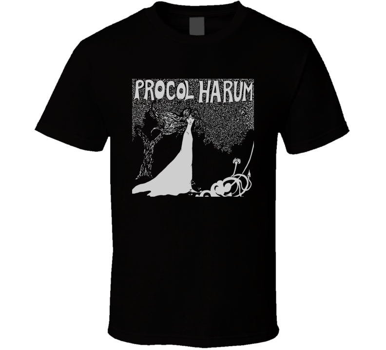 Procol Harum White Shade Of Pale Music Band T Shirt