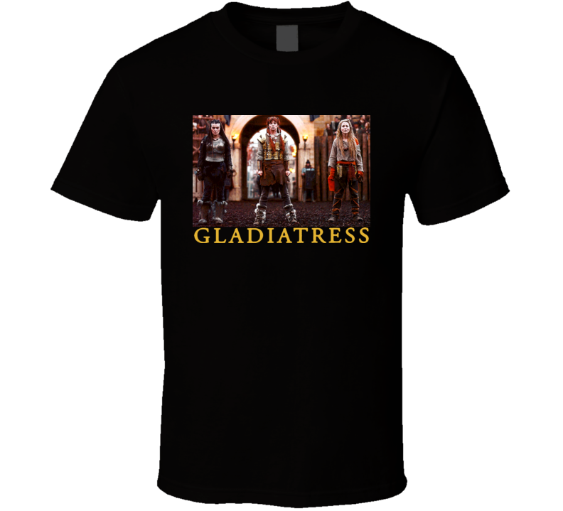 Gladiatress Funny Movie Comedy Celtic British T Shirt