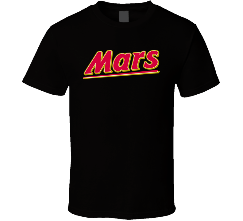 Mars Chocolate Lover Candy Bar Cute T Shirt