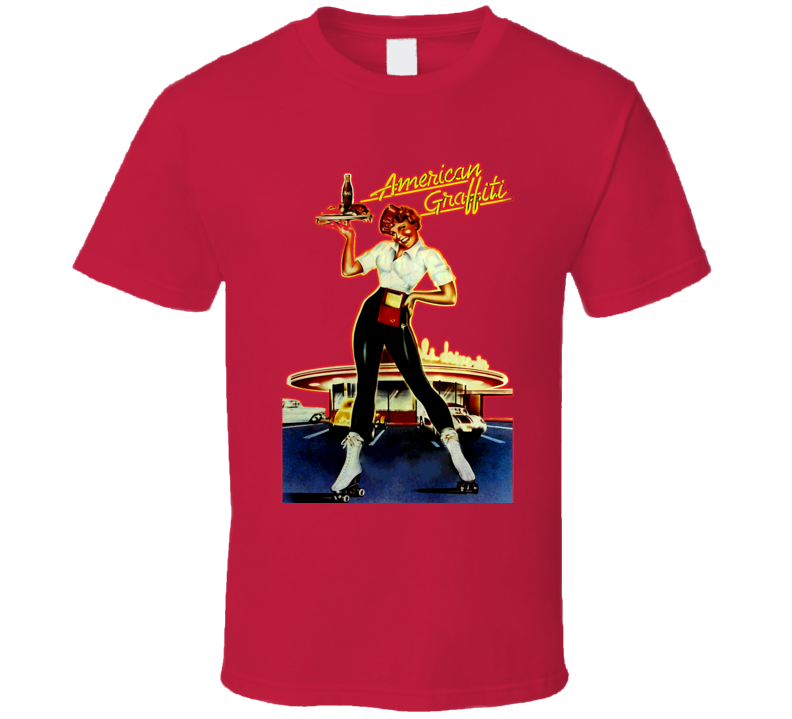 American Graffiti Retro Movie Poster Classic T Shirt