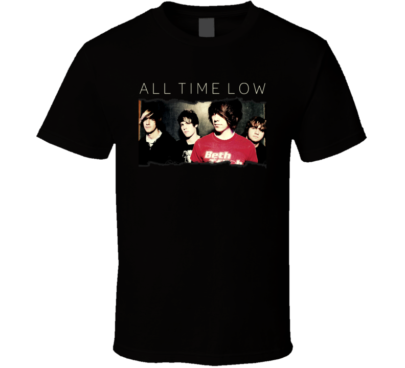 All Time Low Music Pop Band T Shirt