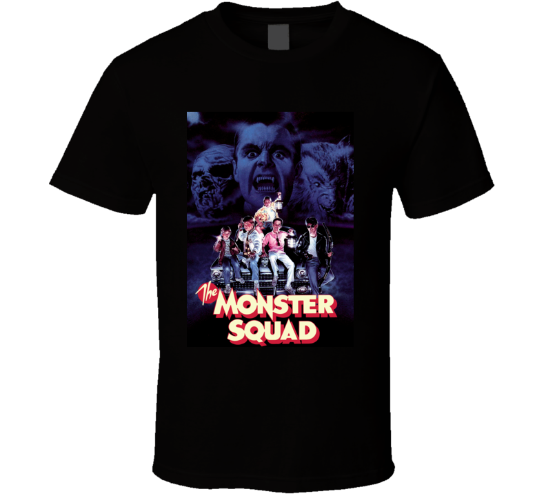 The Monster Squad 80s Comedy Horror Movie T Shirt