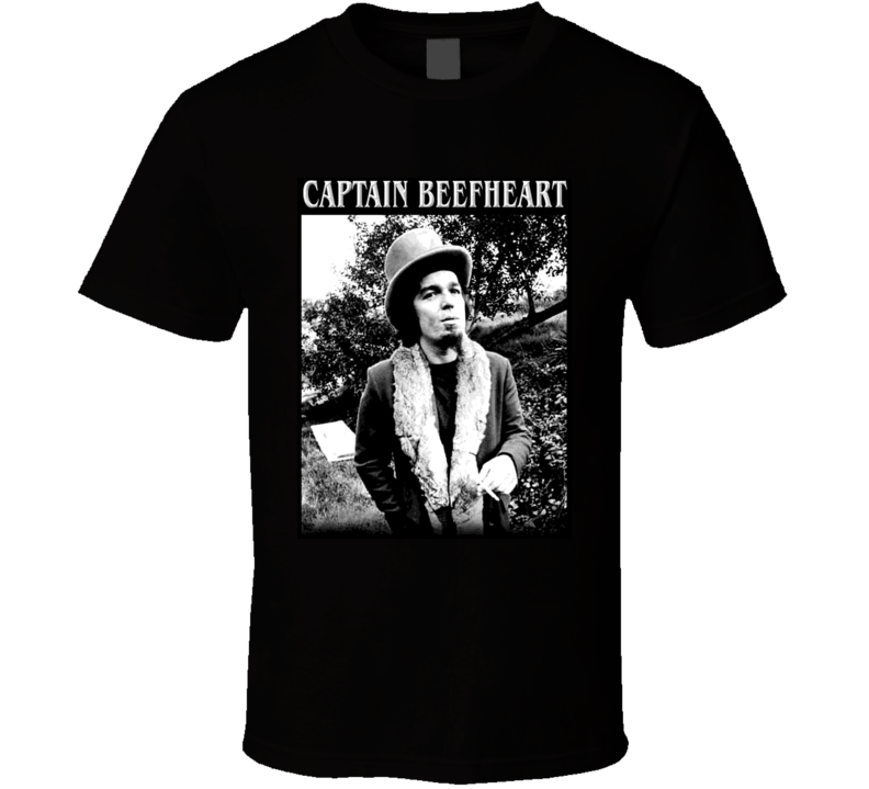 Captain  Beefheart Fast And Bulbous Music T Shirt