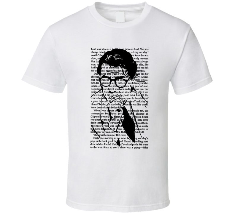Atticus Finch To Kill A Mockingbird Movie Law Lawyer T Shirt