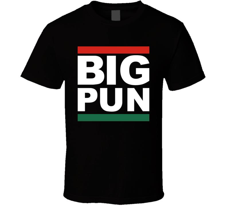 Big Pun Hip Hop Rapper Latino Spanish T Shirt