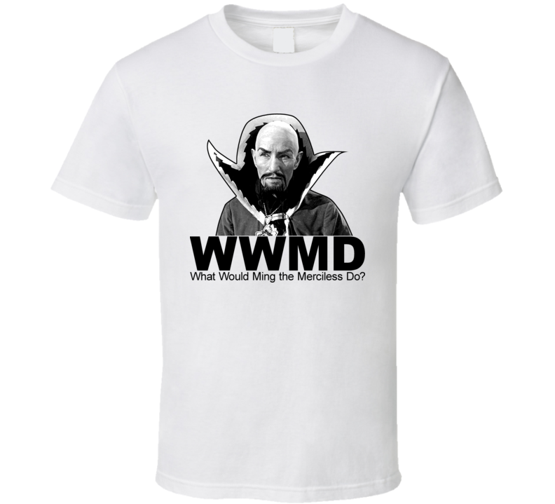 Ming The Merciless Flash Gordon Retro Villian T Shirt