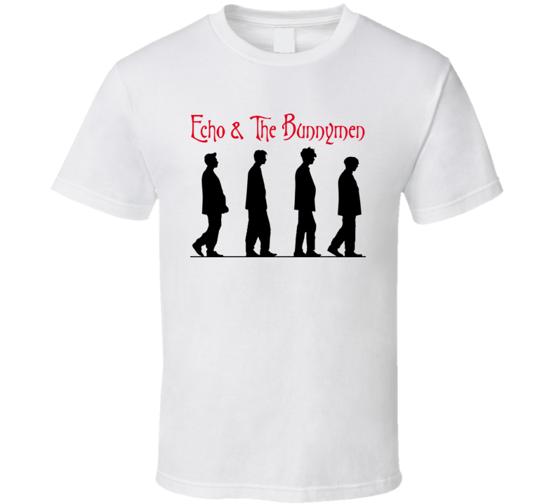 Echo And The Bunnymen Music Retro Band T Shirt