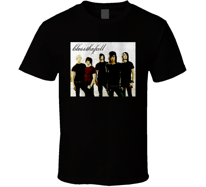 Blessthefall Music Band Metalcore Hard Rock T Shirt