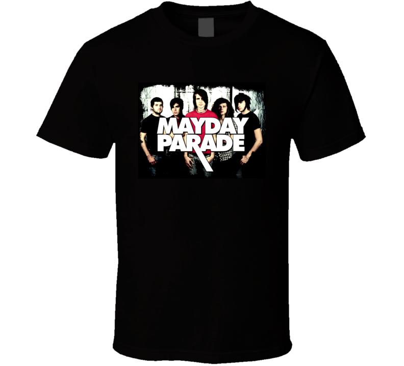 Mayday Parade Music Band Emo Alt Rock Indie T Shirt