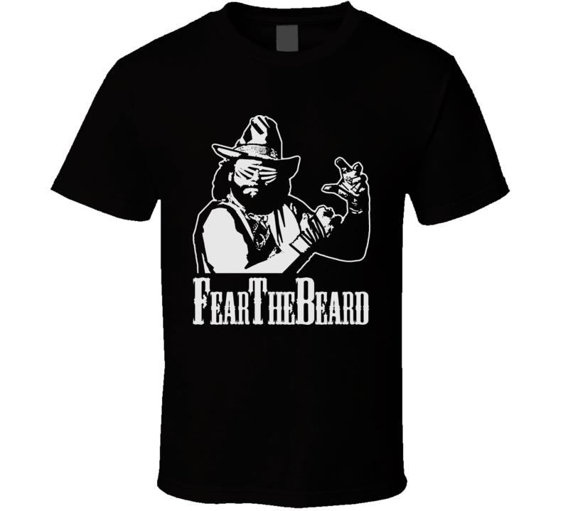 Macho Man Randy Savage Fear The Beard T Shirtt