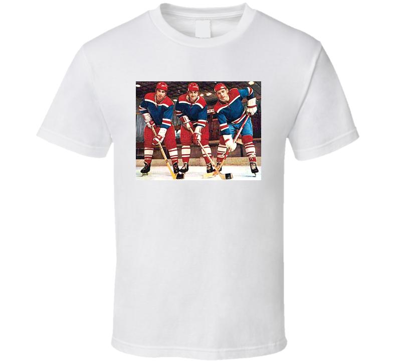 Russian Russia Hockey Retro Players Mikhailov Kharlamov Petrov T Shirt