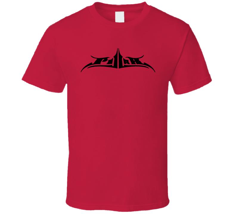 Pillar Christian Rock Band Music Logo Cool Red T Shirt