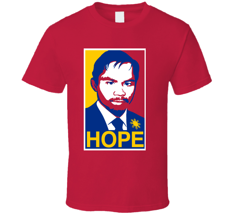 Manny Pacquiao Hope T Shirt