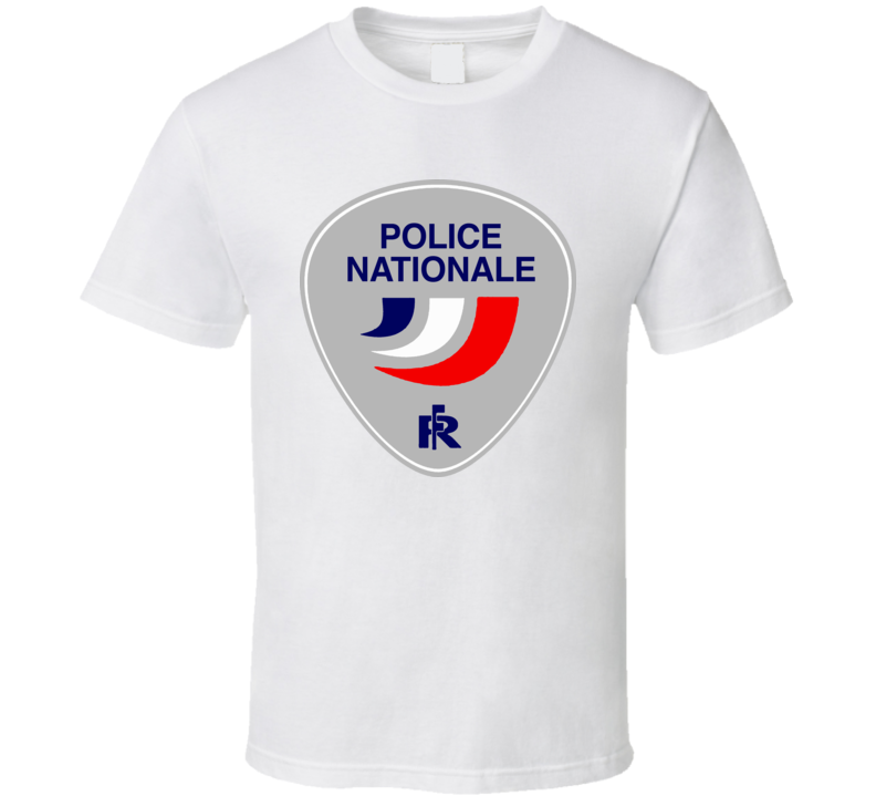 French Police Nationale Logo France T Shirt