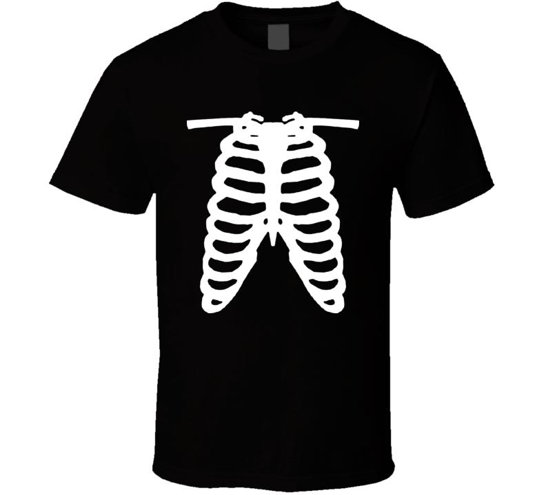 Rib Cage X Ray Funny T Shirt